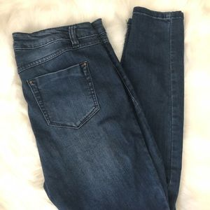 Blue Spice Skinny High Waisted Jeans